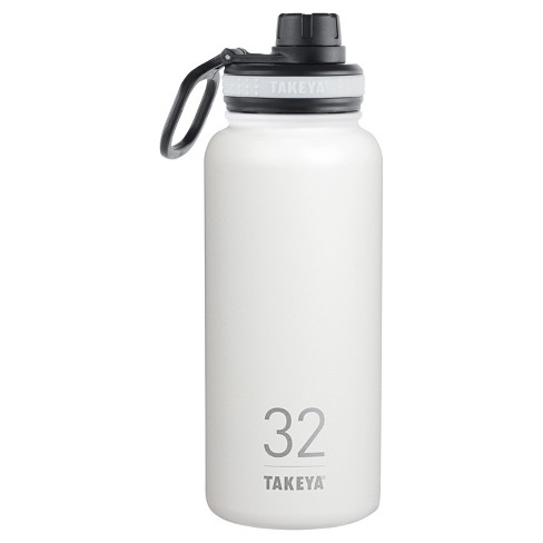 Takeya Originals 32oz Insulated Stainless Steel Water Bottle with Spout Lid - image 1 of 2