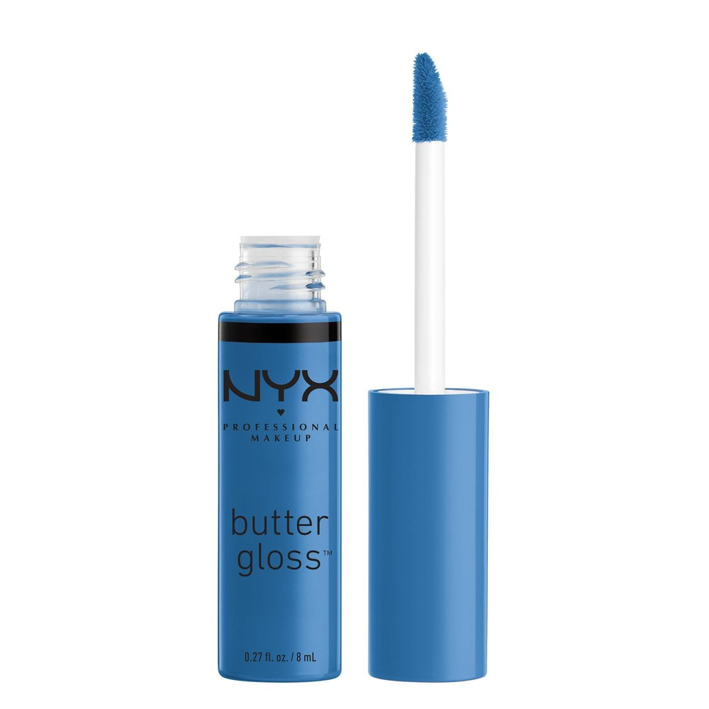 Nyx Professional Makeup Butter Lip Gloss Blueberry Tart 0 27 Fl Oz