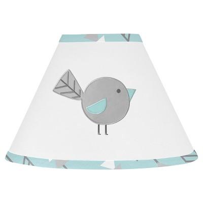 Sweet Jojo Designs Earth and Sky Lamp Shade - Turquoise