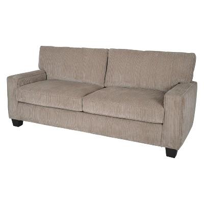 "73"" Palisades Deep Seating Sofa Beige - Serta"