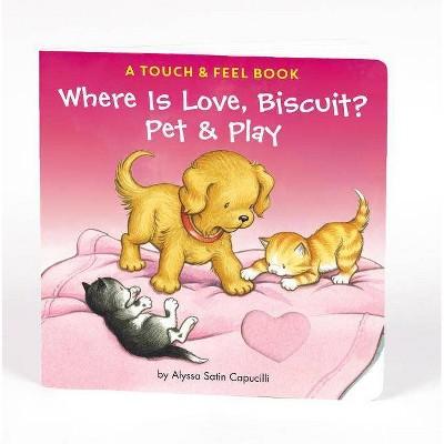 Where is Love Biscuit (Board Book)(Alyssa Satin Capucilli)