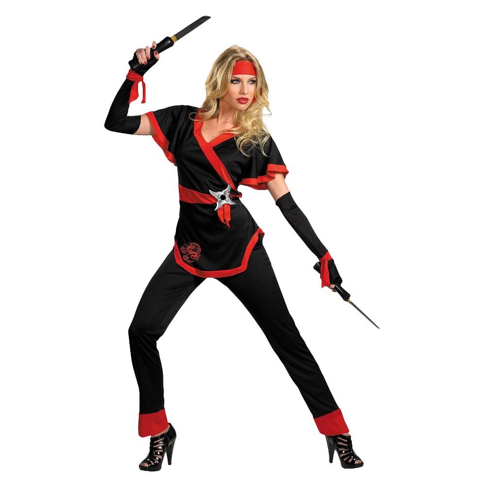 Women's Ninja Dragon Costume Medium
