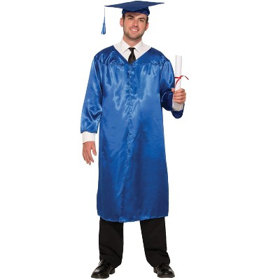Forum Novelties Graduation Robe Adult Costume (Blue)