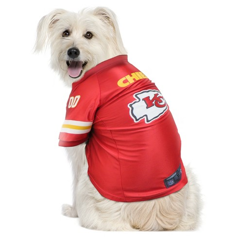 Kansas City Chiefs Little Earth Pet Premium Football Jersey Red