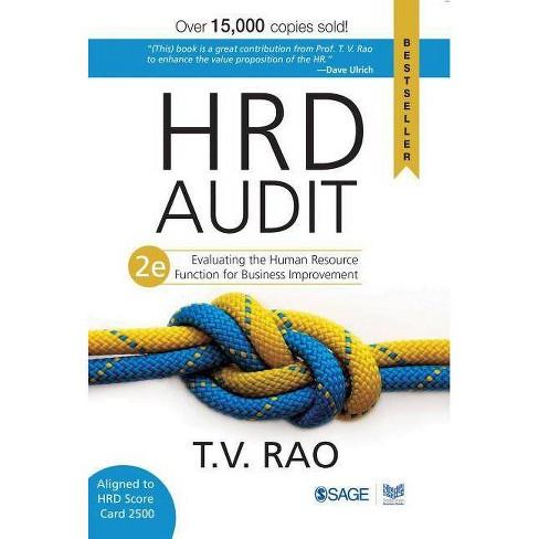 Hrd Audit - 2 Edition by  T V Rao (Paperback) - image 1 of 1