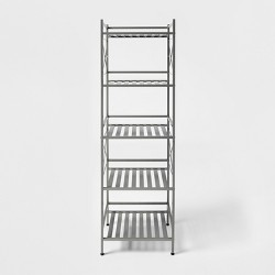 Square Tube 5 Tier Decorative Shelving Unit - Threshold™