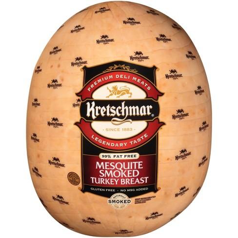 Kretschmar Mesquite Smoked Turkey Breast - Deli Fresh Sliced - price per lb - image 1 of 4