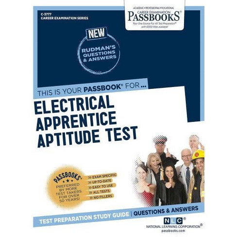 Electrical Apprentice Aptitude Test - (Career Examination) by  National Learning Corporation (Paperback) - image 1 of 1