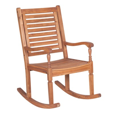 Acacia Rocking Chair (Oil Finish) - Saracina Home