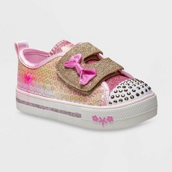 Toddler Girls' S Sport by Skechers Madelyne Light-Up Sneakers - Gold