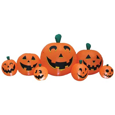 8.5' Pumpkin Patch Halloween Inflatable Decorations