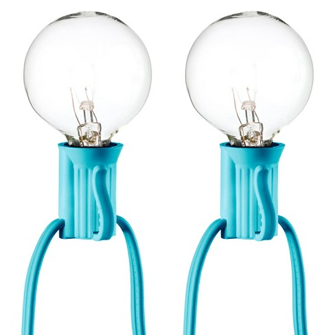 25ct Clear Globe Lights - Room Essentials™ - image 1 of 1