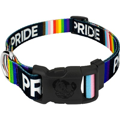 Country Brook Petz® Deluxe Pride Dog Collar - Made in the U.S.A.
