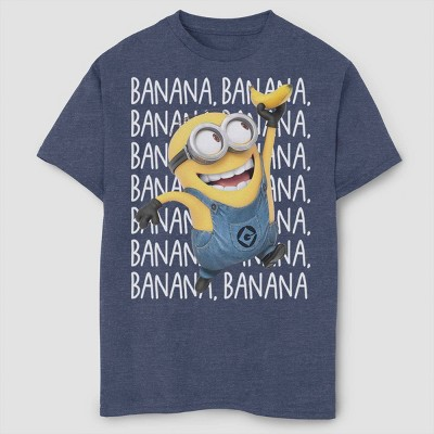 Boys' Despicable Me Minions Gone Bananas T-Shirt - Navy