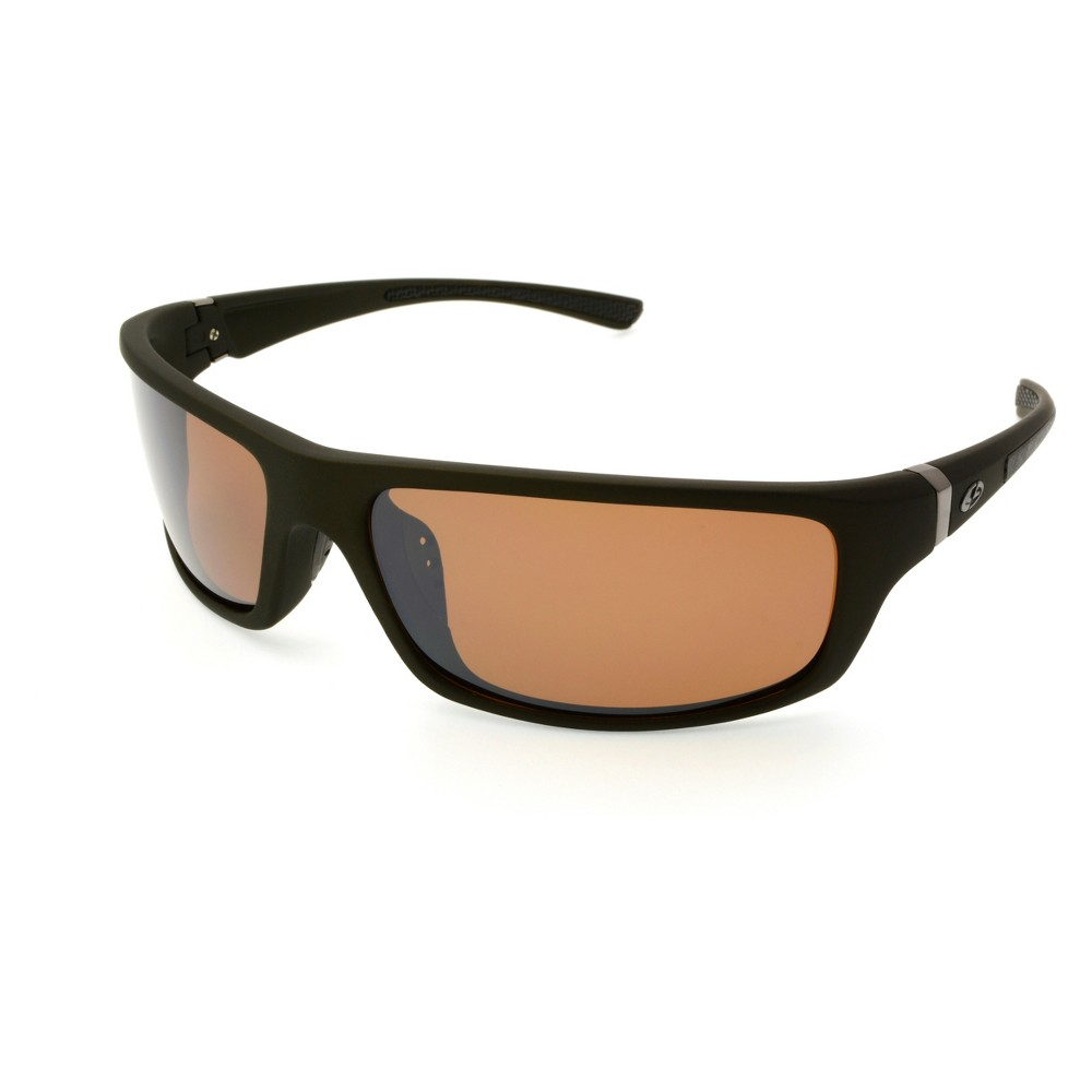 Men's Sport Sunglasses with Full Rim - C9 Champion Gray One Size Sport Sunglasses with Full Rim Gray from C9 Champion offer eye protection for everyday wear or for outdoor activities. They work great as running sunglasses in particular. These sleek wraparound sunglasses for men sport orange racing stripes. Size: One size. Gender: Male. Age Group: Adult. Pattern: Solid.