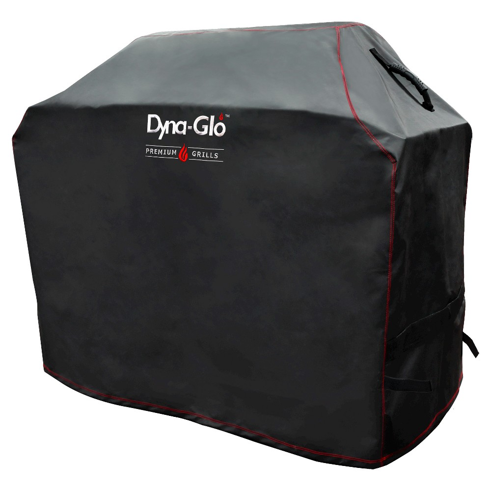 Premium Medium 4 Burner Grill Cover – Black- Dyna Glo, Black 50038634
