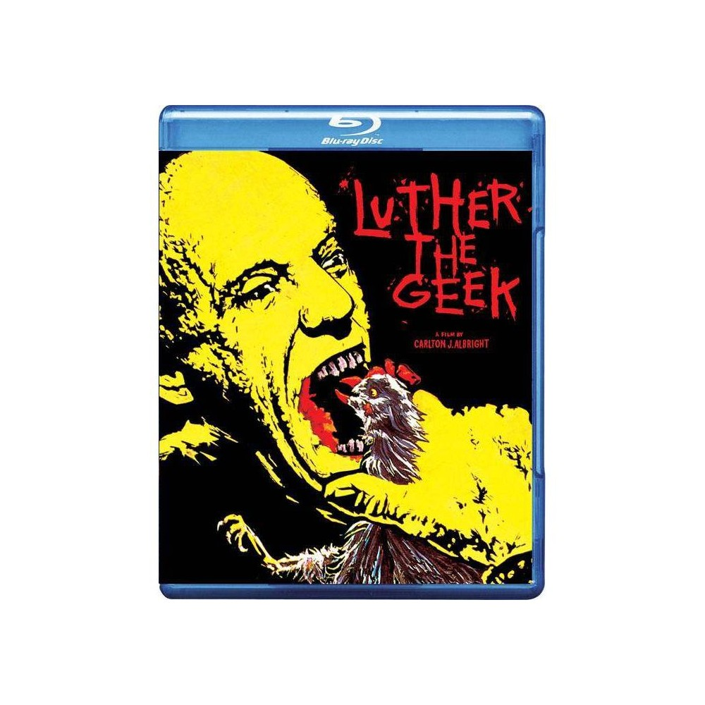 Luther The Geek Blu Ray
