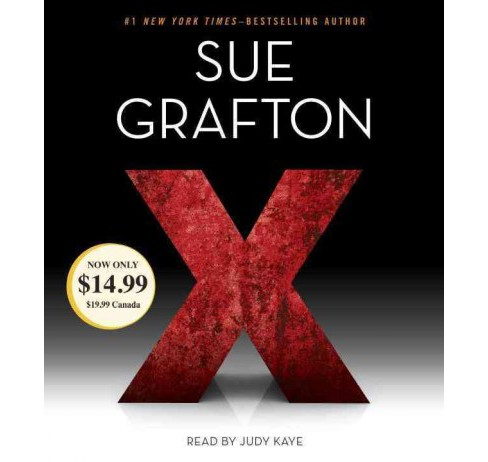 X (Abridged) (CD/Spoken Word) (Sue Grafton) - image 1 of 1