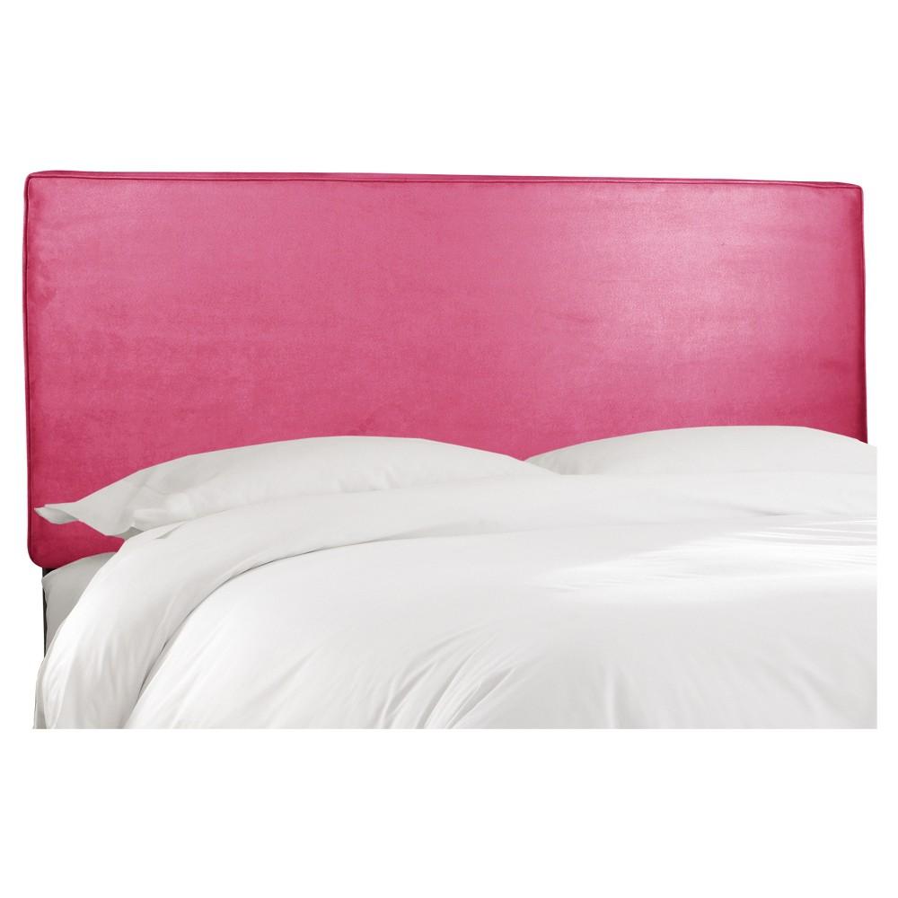 Austin Headboard Premier Hot Pink King - Skyline Furniture