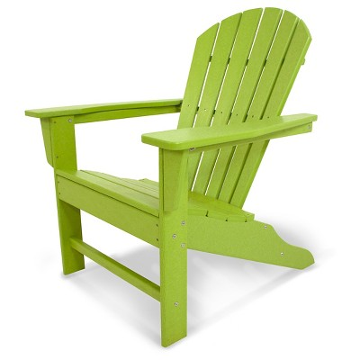 POLYWOOD® South Beach Patio Adirondack Chair  sc 1 st  Target & POLYWOOD® South Beach Patio Adirondack Chair : Target