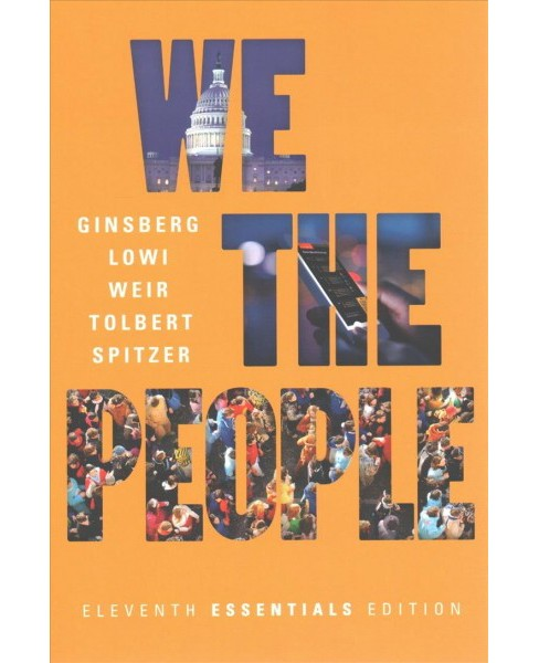 We the People : An Introduction to American Politics -  (Paperback) - image 1 of 1