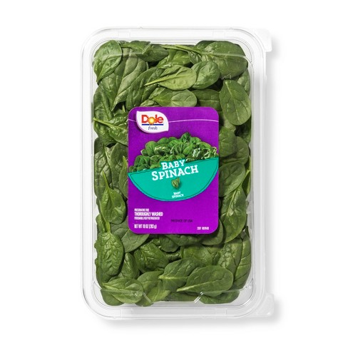 Dole Baby Spinach Salad - 10oz - image 1 of 3