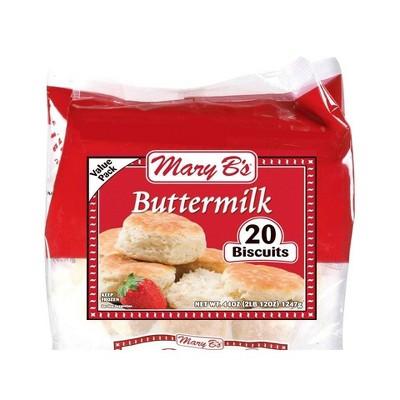 Mary B's Frozen Buttermilk Biscuits - 44oz/20ct