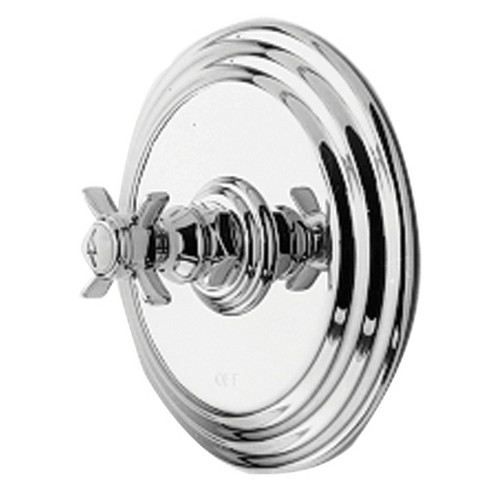 Newport Brass 4-1004BP Fairfield Collection Single Handle Round Pressure Balanced Shower Trim Plate Only - image 1 of 1