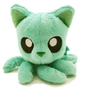 "Tentacle Kitty Little One 4"" Plush Seafoam Green"