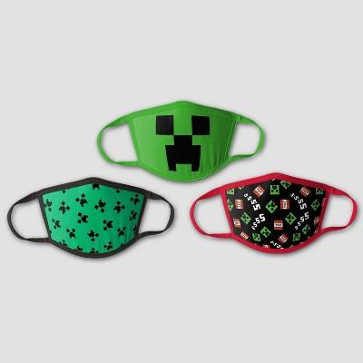 Kids' 3pk Minecraft Mask