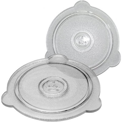 Cuchina Safe 2-Piece Microwave Covers Vented Glass Microwave Safe Lids Set; Perfect Lid For Bowls, Mugs, And Pots (8 Inch And 9 Inch)