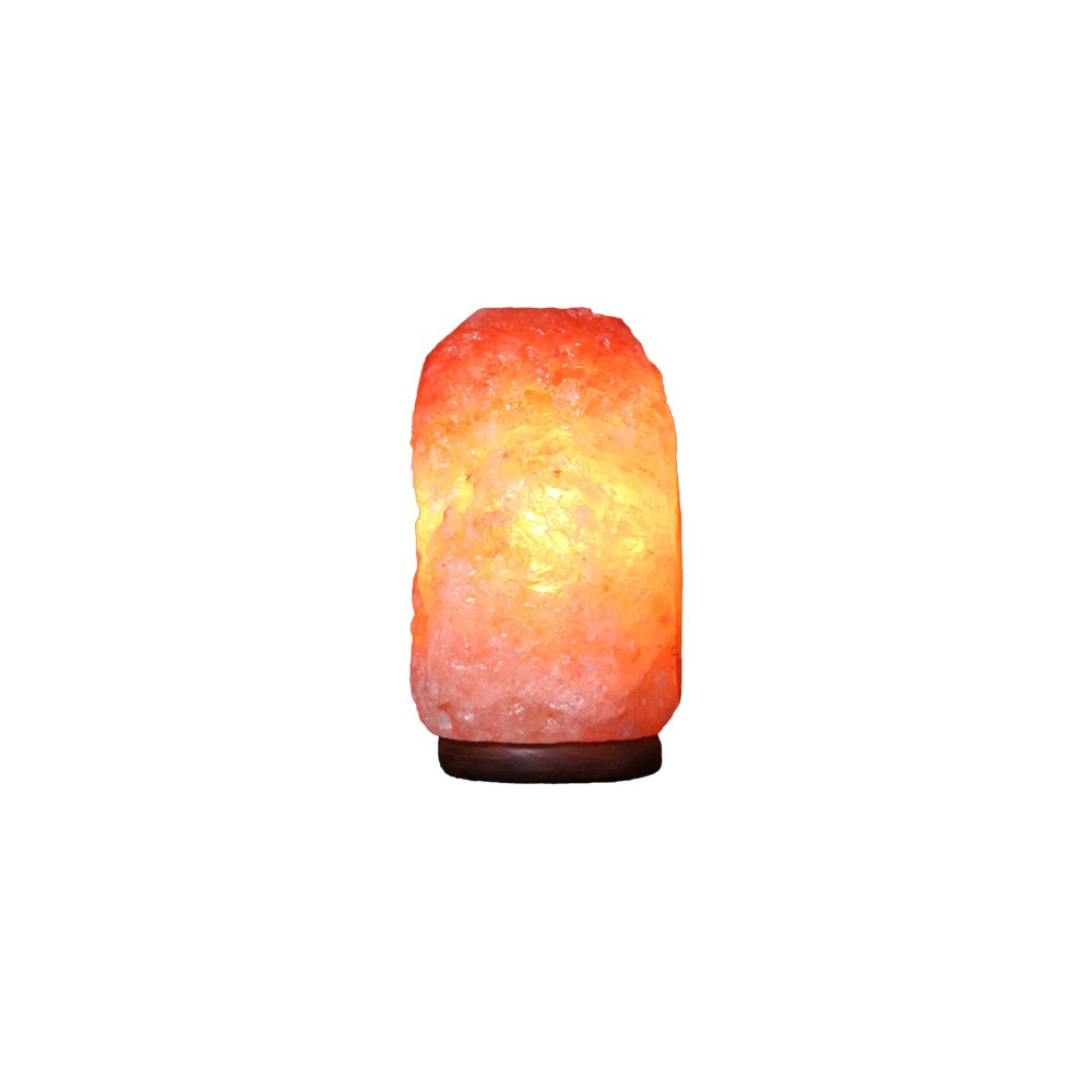 Image of Natural Table Lamp Pastel Pink - Q&A Himalayan Salt