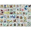 Eurographics Inc. Butterflies Vintage Stamps 500 Piece Jigsaw Puzzle - image 3 of 4