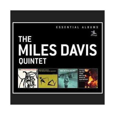 Miles Quintet Davis - Essential Albums: Cookin'/Relaxin'/Workin'/Steamin' (Box) (CD) - image 1 of 1