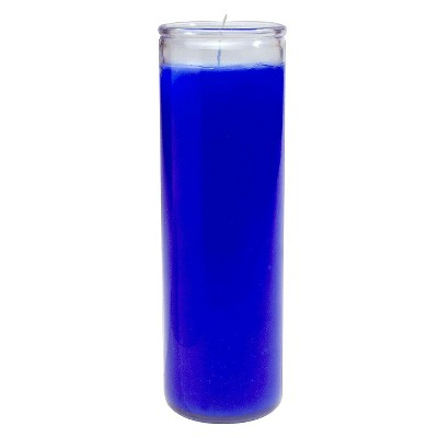 Jar Candle Blue 11.3oz - Continental Candle