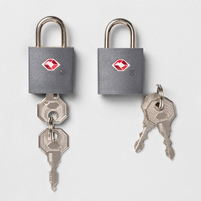 Key Luggage Lock 2pk  - Made By Design™