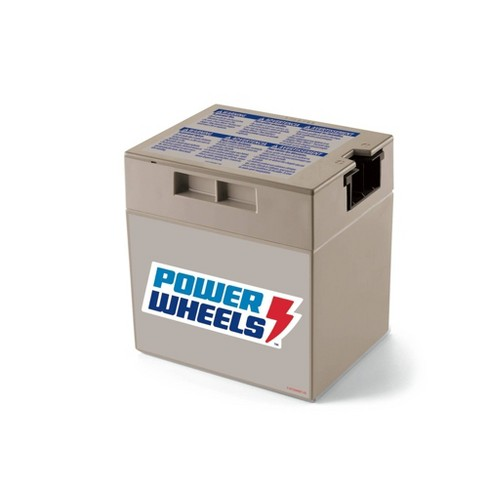 Fisher-Price Power Wheels 12-Volt Rechargeable Replacement Battery
