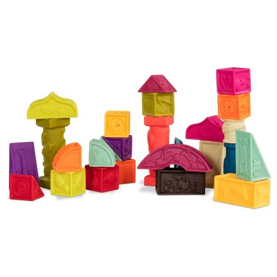 B. toys Educational Baby Blocks - Elemenosqueeze
