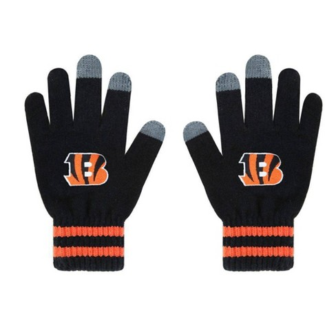 NFL Cincinnati Bengals Embroidered Player Touch Gloves - image 1 of 1