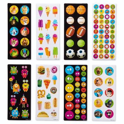 536ct Sports, Animals, and Ice Cream Stickers