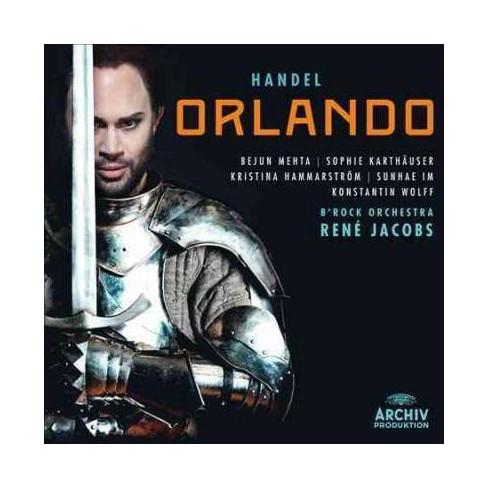 Ren'  George Frideric; Jacobs Handel - Handel: Orlando (CD) - image 1 of 1