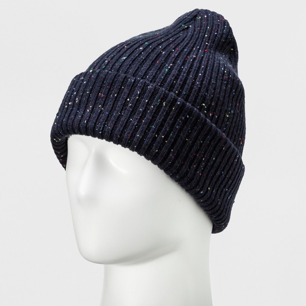 Men's Needle Stitched Snood - Goodfellow & Co Navy (Blue) Heather One Size