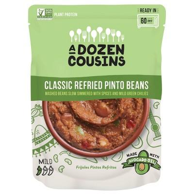 A Dozen Cousins Classic Refried Pinto Beans - 10oz