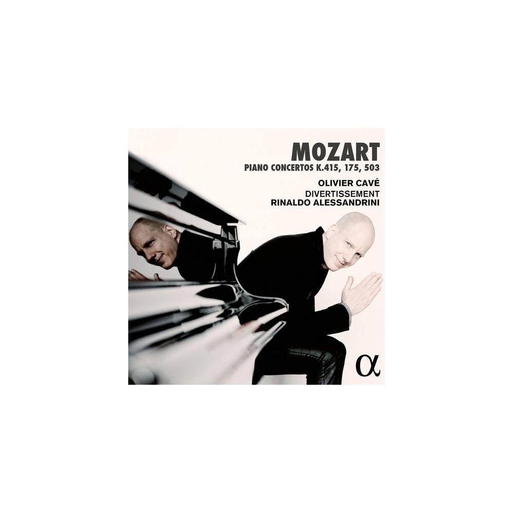 Rinald Alessandrini - Mozart:Piano Concertos K 415 K 175 (CD)