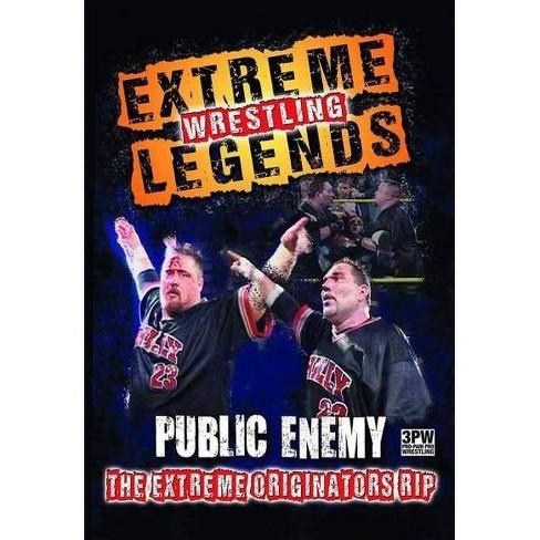 EXTREME WRESTLING LEGENDS:PUBLIC ENEM (DVD) - image 1 of 1