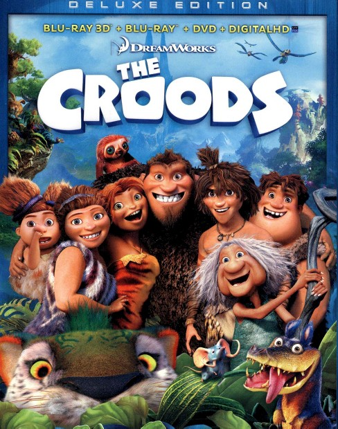The Croods [Deluxe Edition] [3 Discs] [Includes Digital Copy] [3D/2D] [Blu-ray/DVD] - image 1 of 1