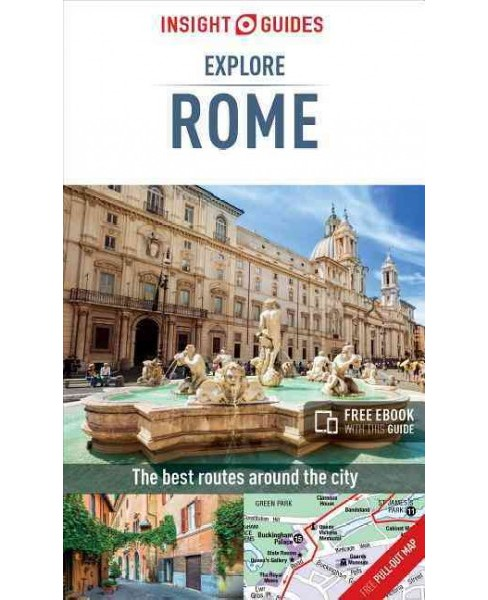 Insight Guides Explore Rome (Paperback) - image 1 of 1
