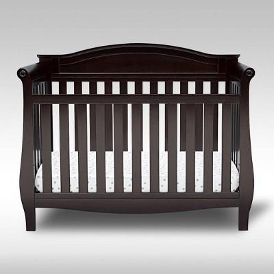 Delta Children Lancaster 4-in-1 Convertible Crib - Dark Chocolate