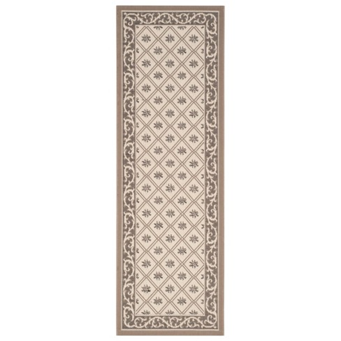 Marseilles Outdoor Rug - Beige / Dark Beige - Safavieh® - image 1 of 3
