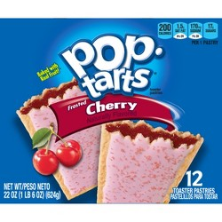 Pop-Tarts Frosted Cherry Pastries - 12ct/20.31oz - Kellogg's